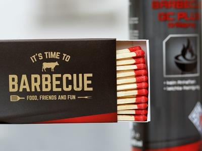 Barbecue Streichhölzer