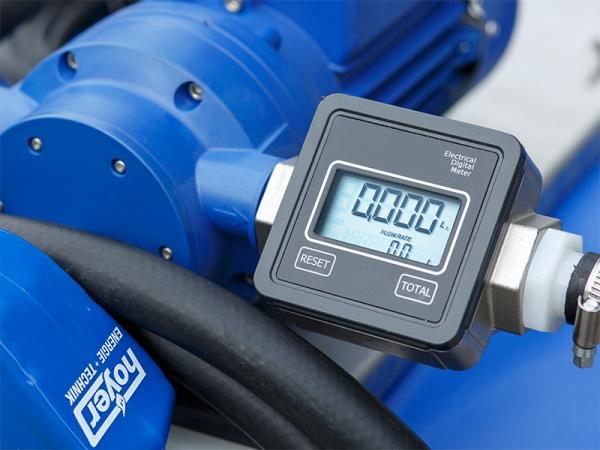 Anzeige Pumpe 210l Fass