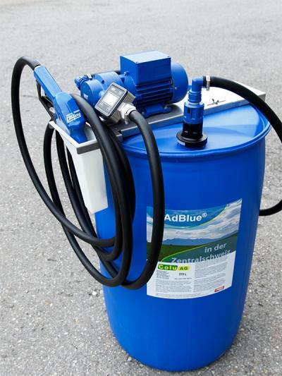 Pumpe für Drum 210l